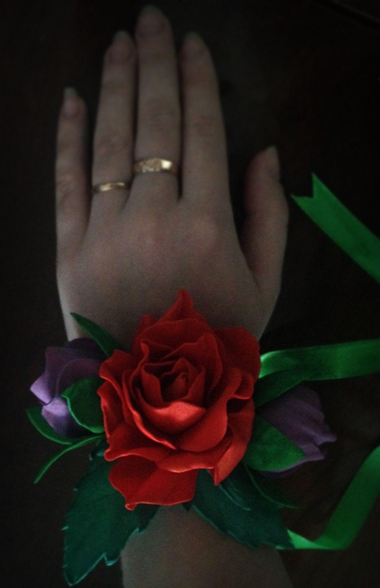 ожерелье ручнаяработа лента повязка фоамиран браслет