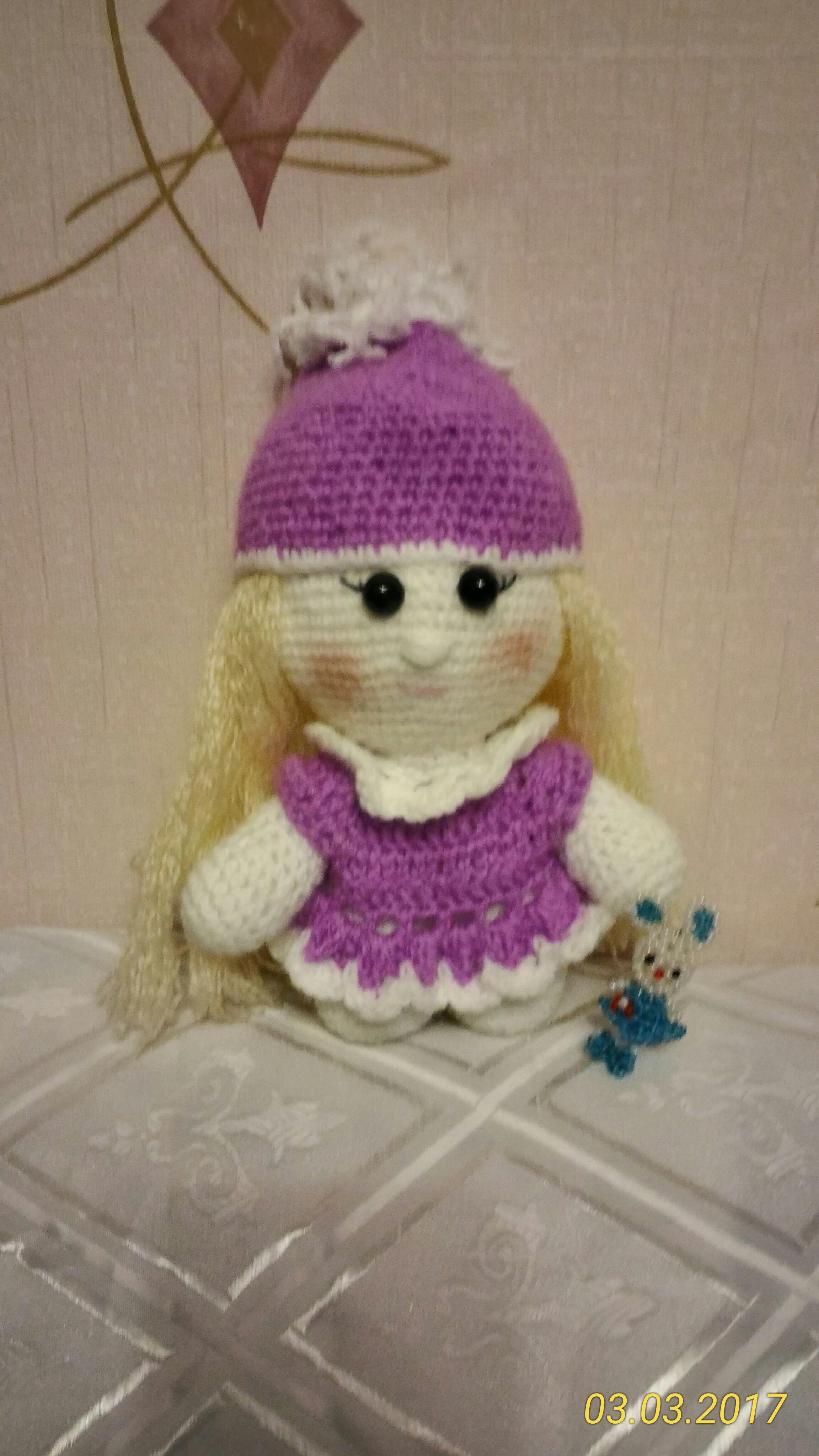 ручнаяработа игрушки подарок крючок вязание handmade куклы дети