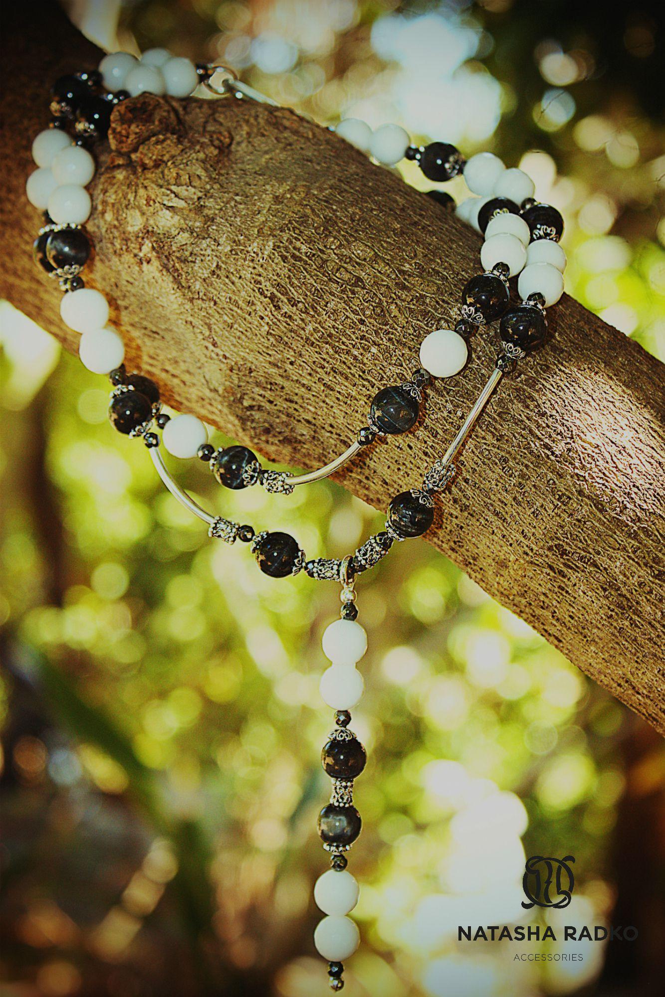 оникс украшение серьги браслет набор агат натуральные колье ожерелье серебро камни подарок