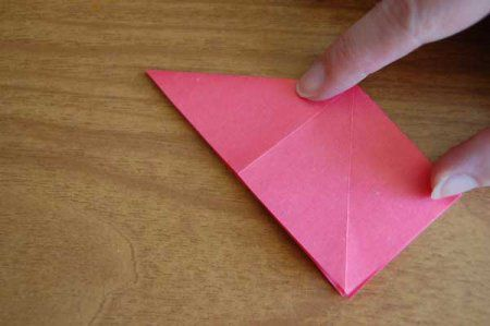 Оригами из бумаги цветы 10