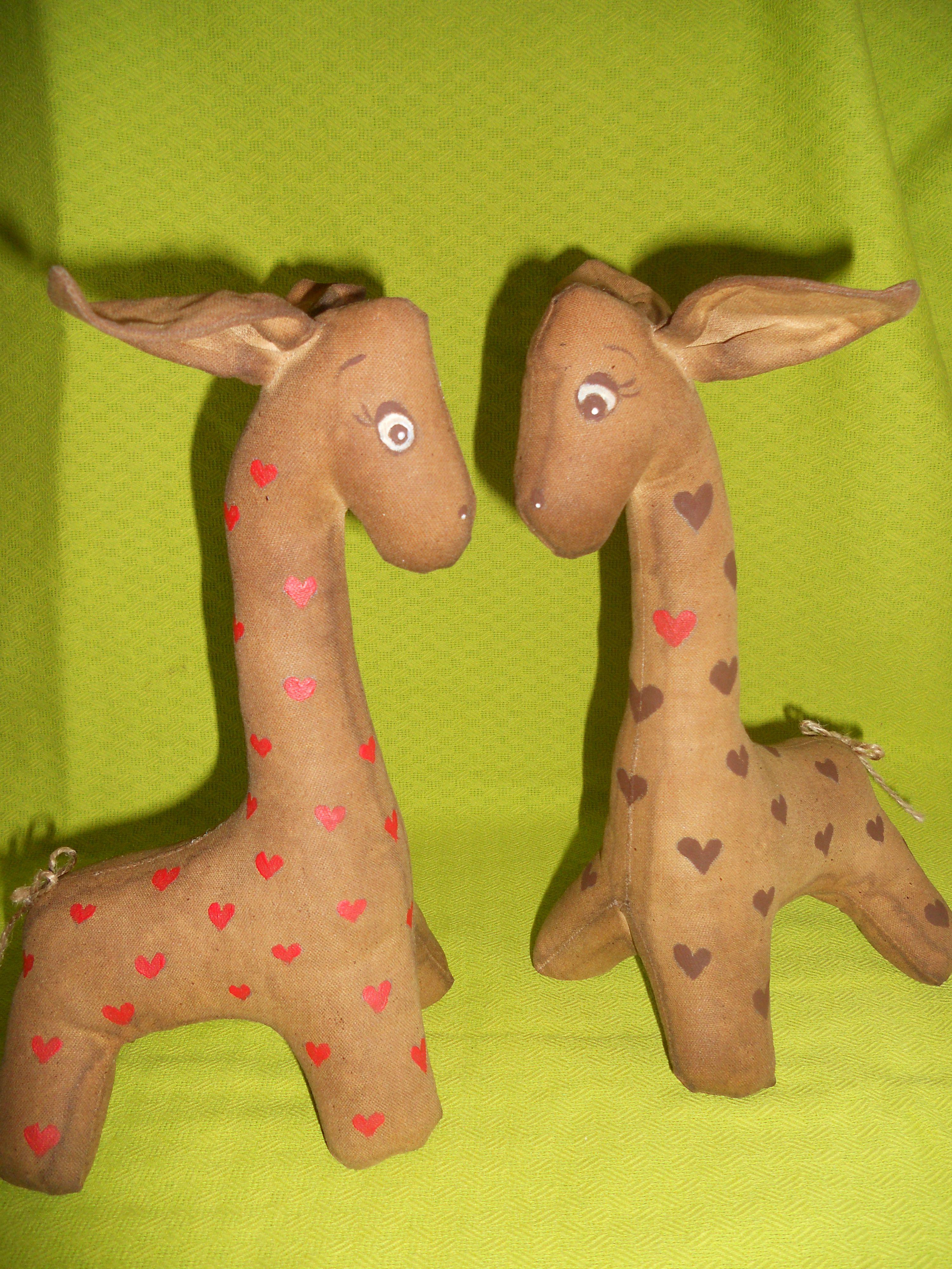 чердачные игрушки жираф кофейные