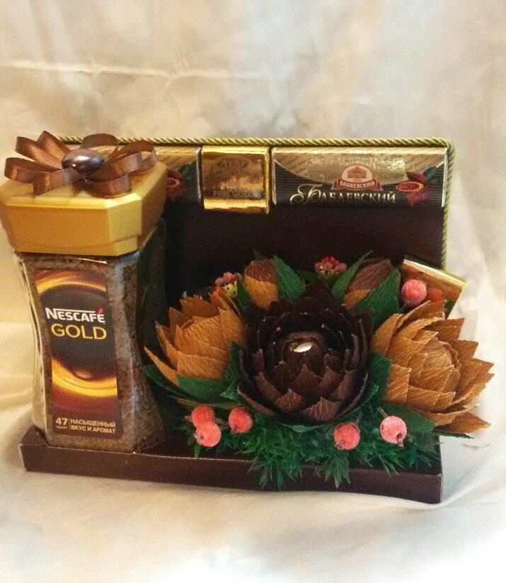 шоколад день набор рождения кофе мужской
