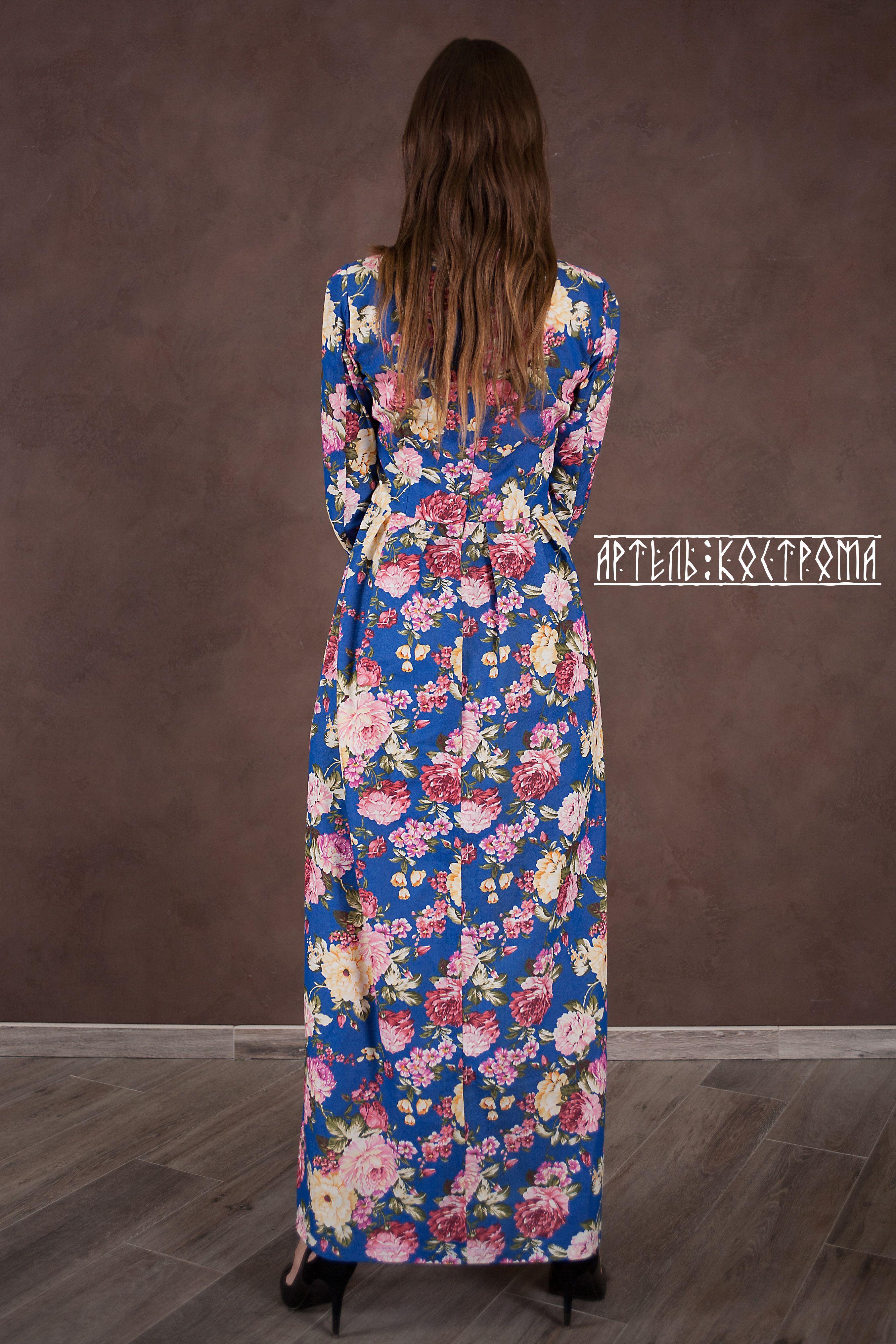 кострома артель джинса заказ на вечернее платье пионы макси одежда цветы