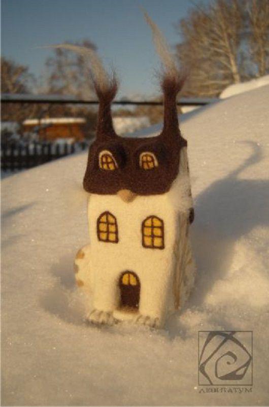 сухоеваляние дымок бежевый крыша хвост уютный кот дом