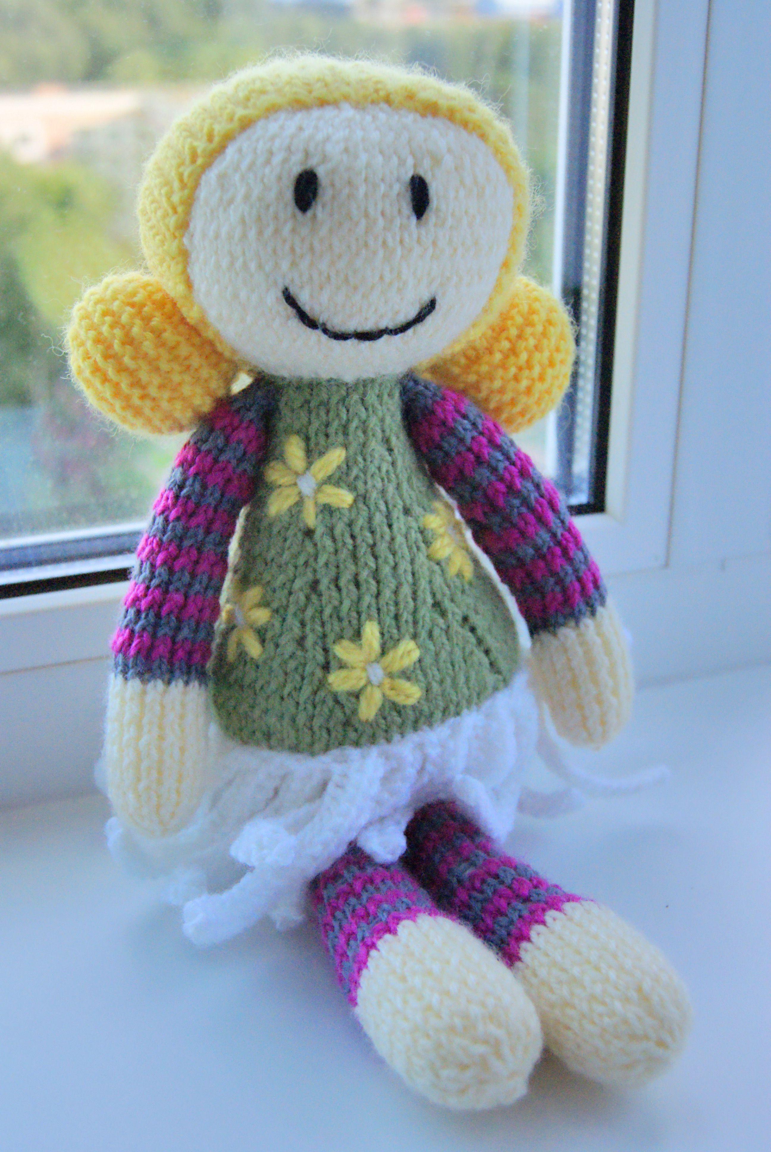 подарок кукла вязание интерьернаяигрушка вяжуназаказ детям куколка инетерьернаякукла вязаниеназаказ