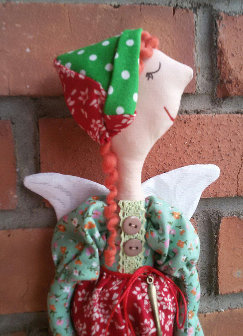 ангел тильда кухня кукла подарок