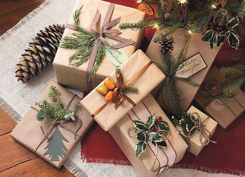 упаковка новыйгод рождество подарки
