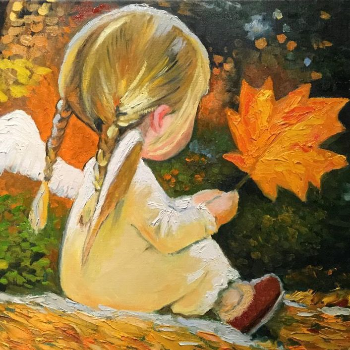 мастеркласс подарки живопись дети