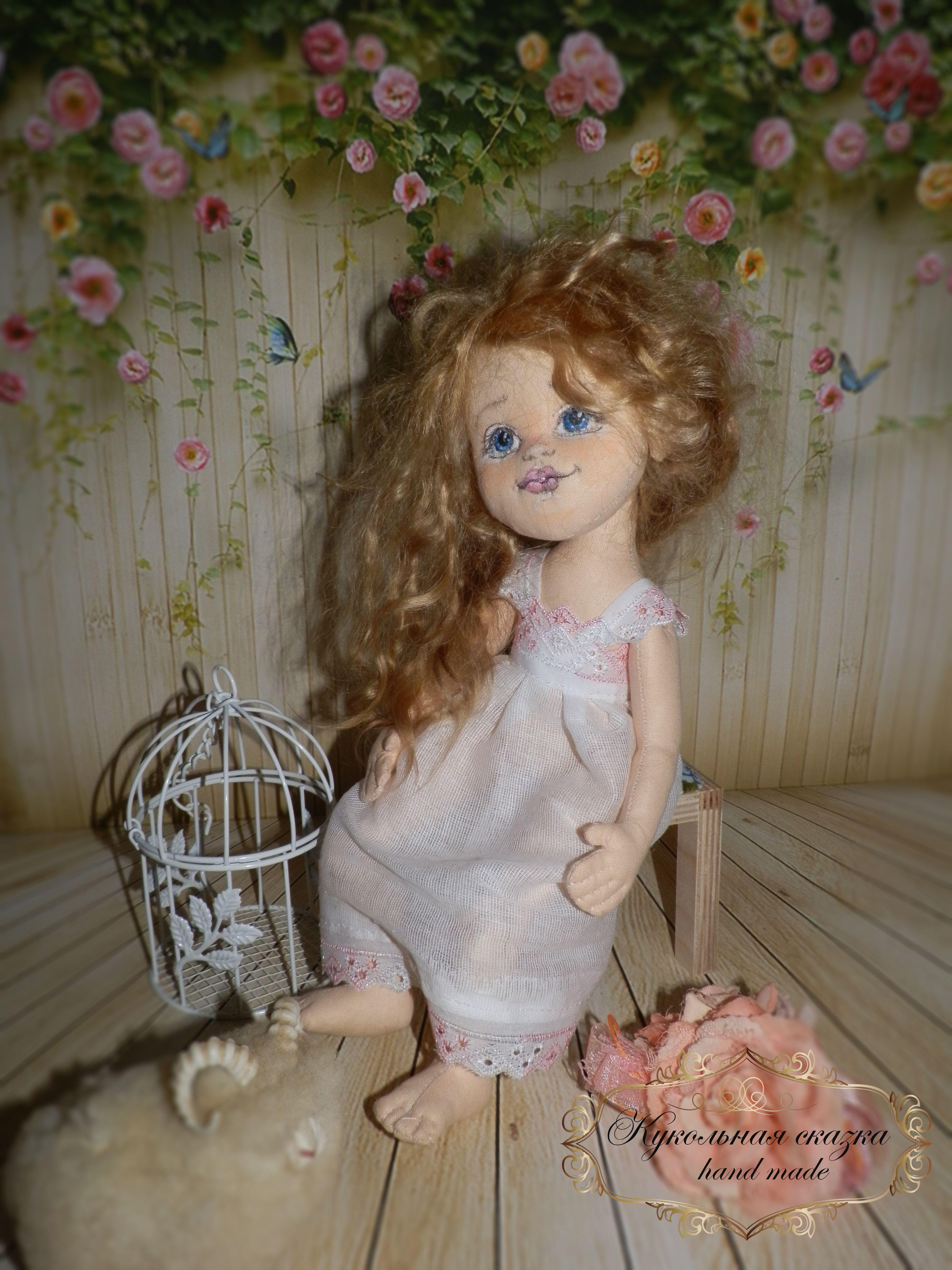 handmade авторская ручная работа кукла в подарок