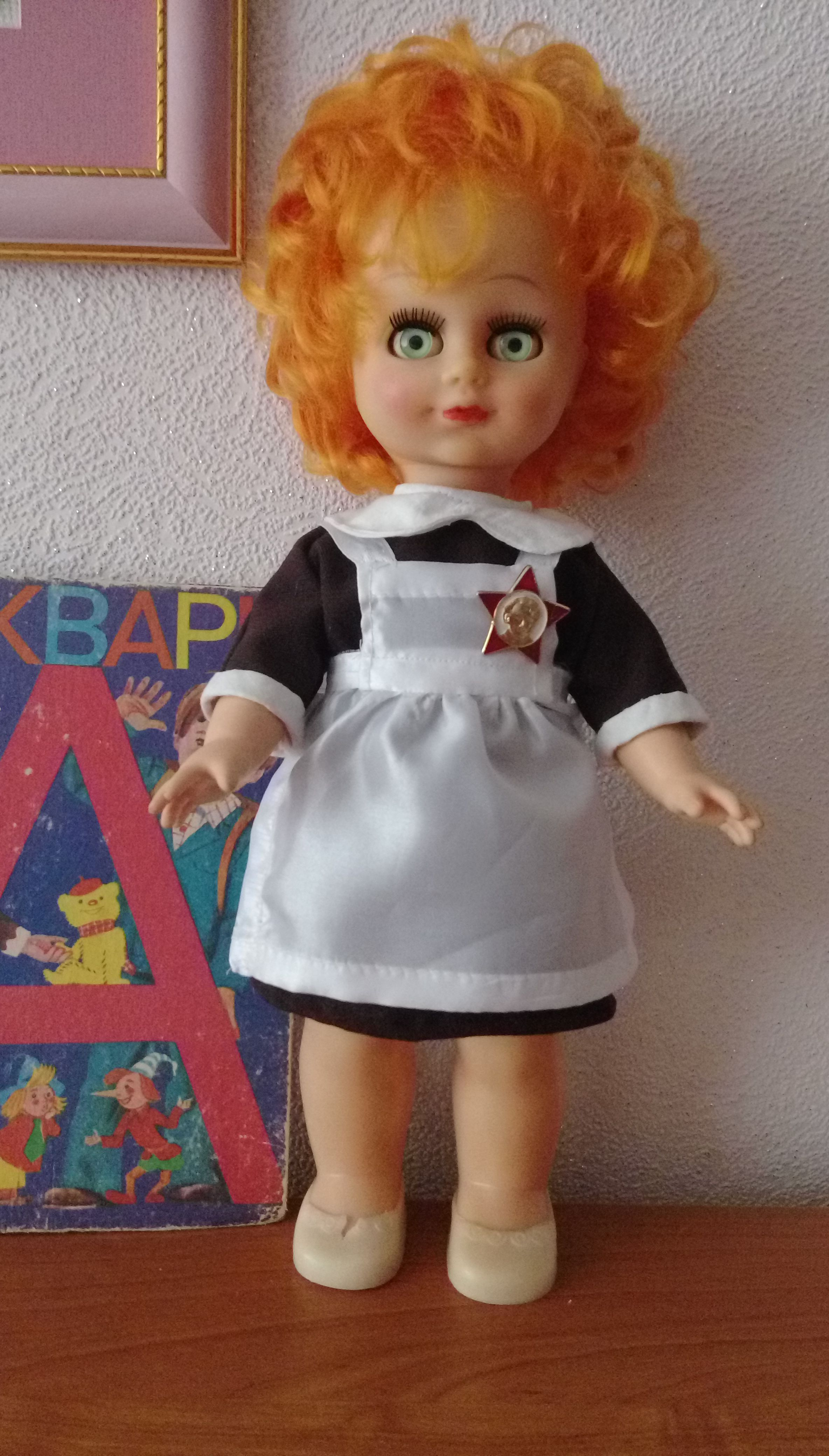 кукольная кукла школьная форма одежда