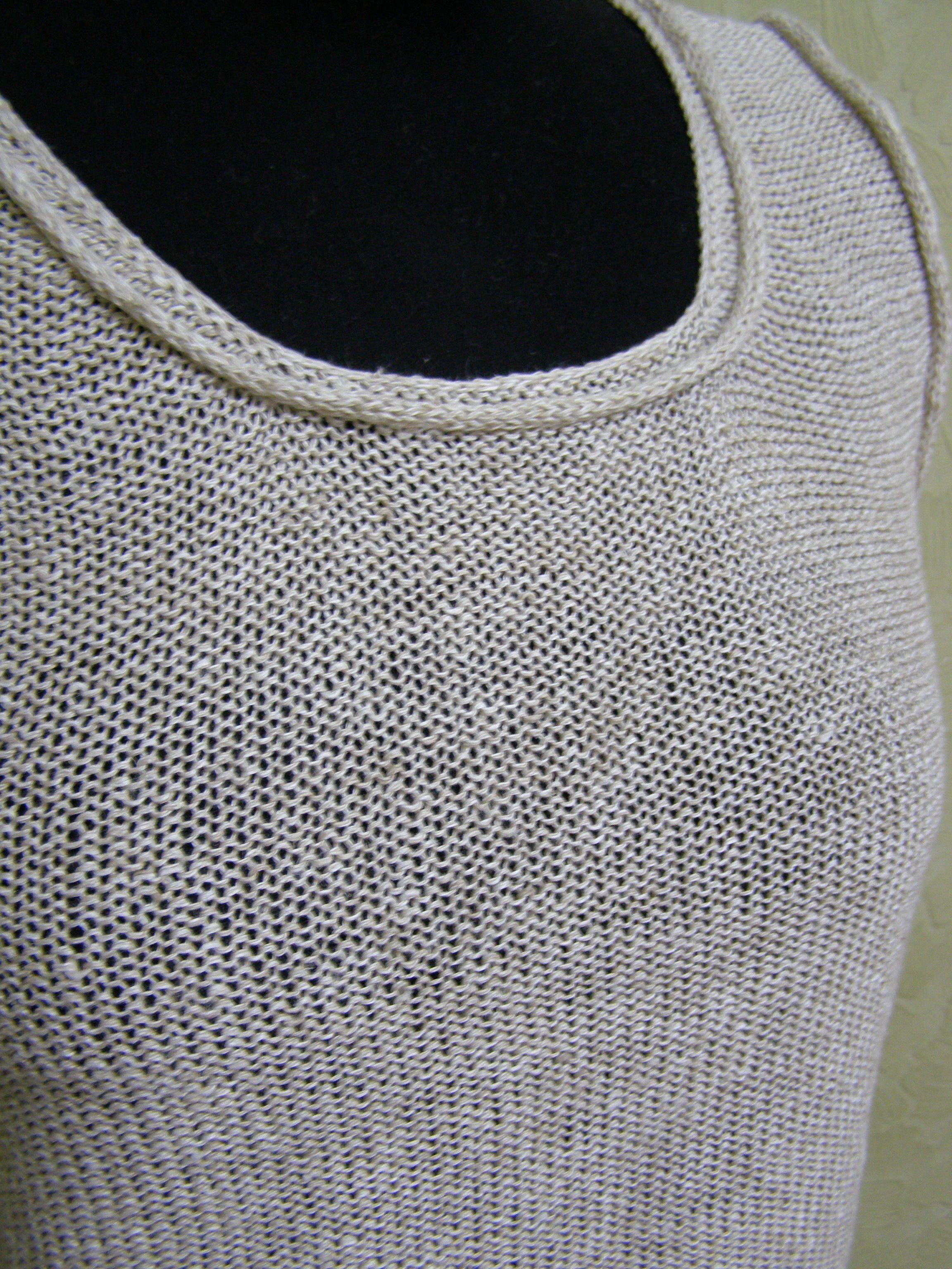 вязание маечка комфорт итальянская комплект лен пряжа машинное