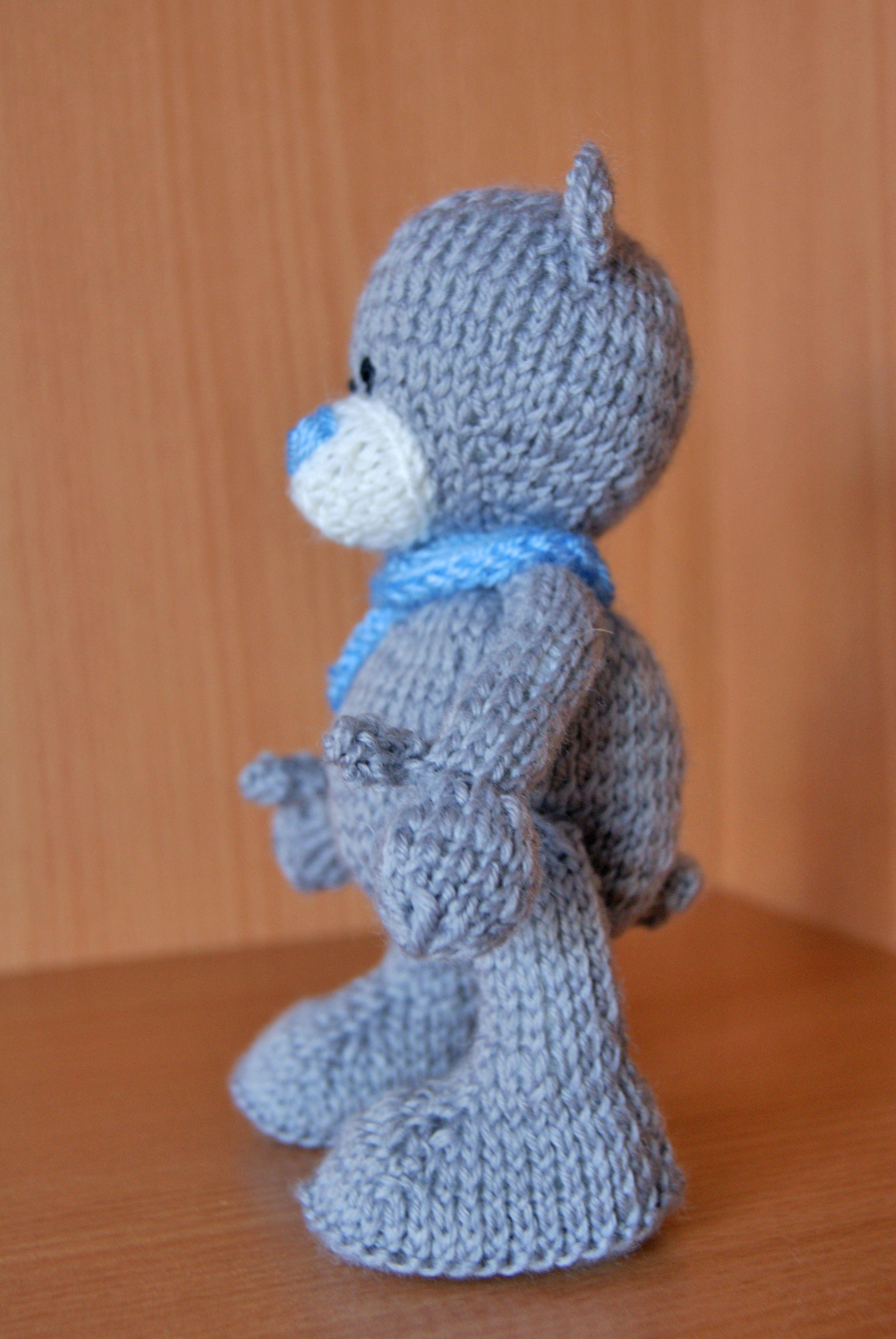 медведь мишка игрушка вязание уют интерьернаяигрушка тепло вяжуназаказ детям тедди вяжутнетолькобабушки подарок вязаниеназаказ