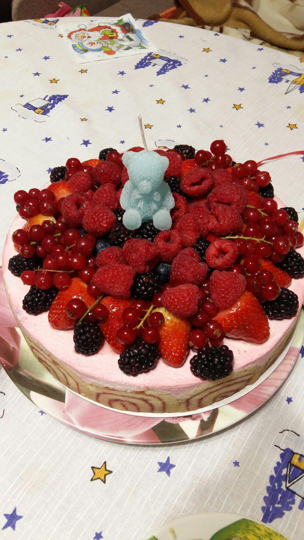 торт мишка свеча дети свечи свечка праздник торты тедди