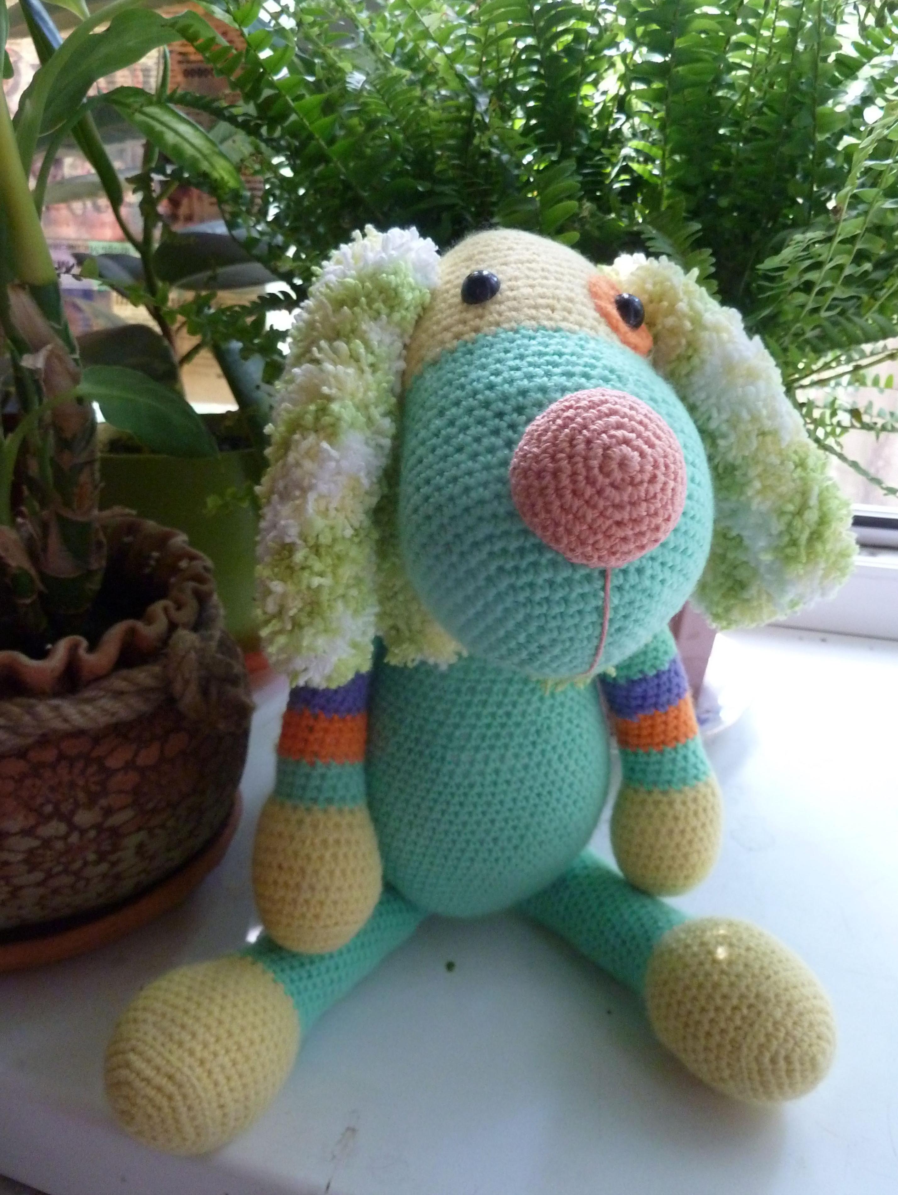 вязание дети игрушки собака