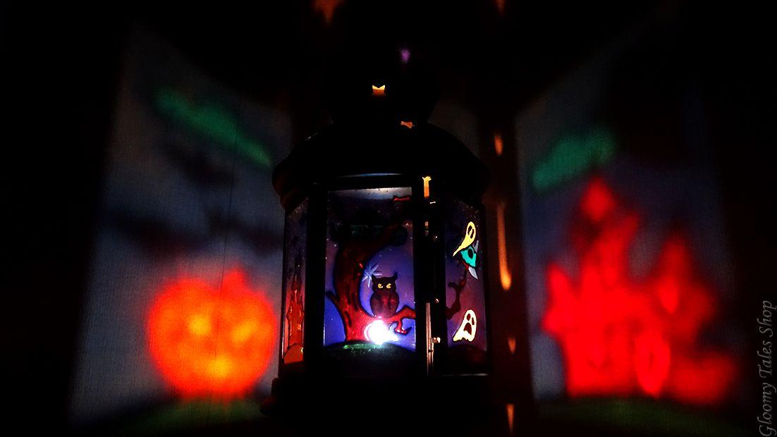 ручнаяработа подарок сова декор хэллоуин витражныйлак фонарик светильник тыква подсвечник хеллоуин летучаямышь фонарь витраж