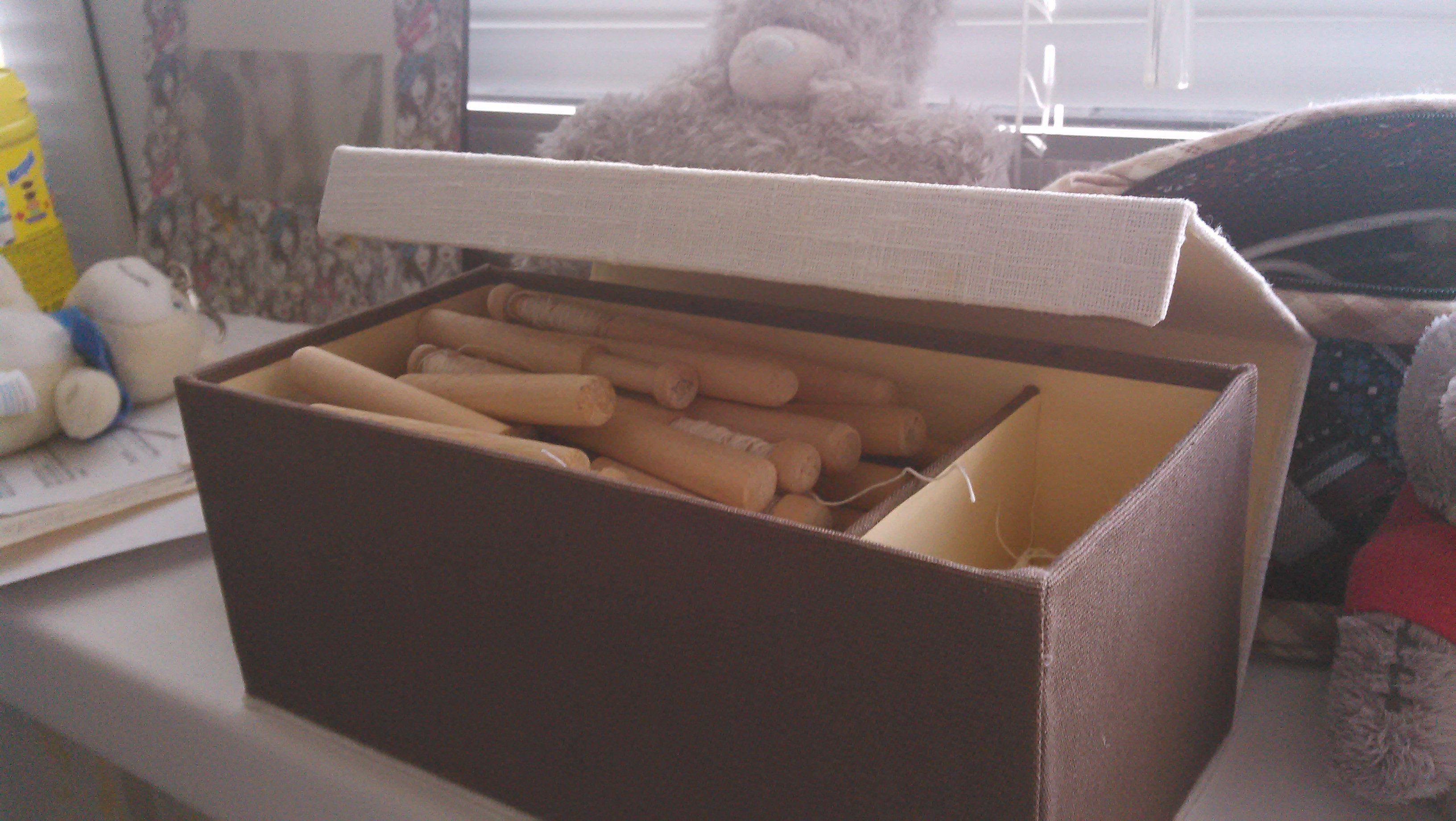 лен хлопок ручная коробочка работа хранение