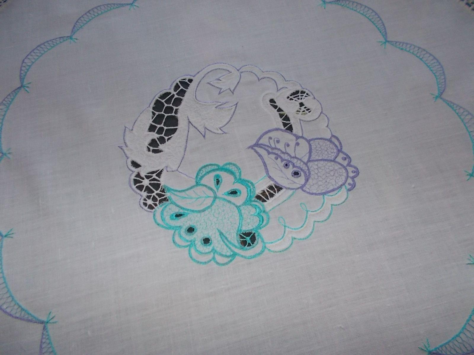 скатерть шелк ришелье вышивка лен белый хлопок