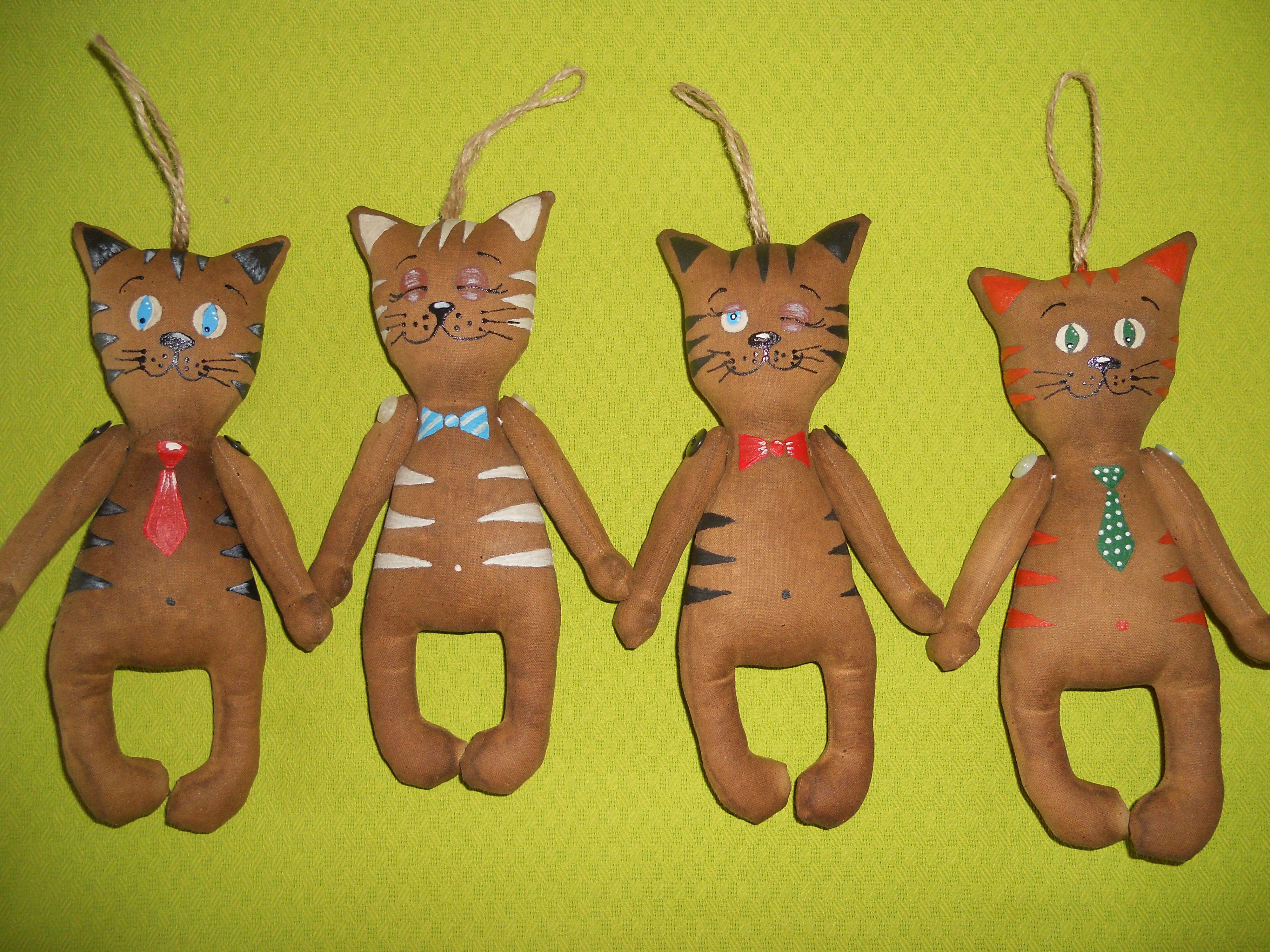 кофейные котик игрушки кот чердачные