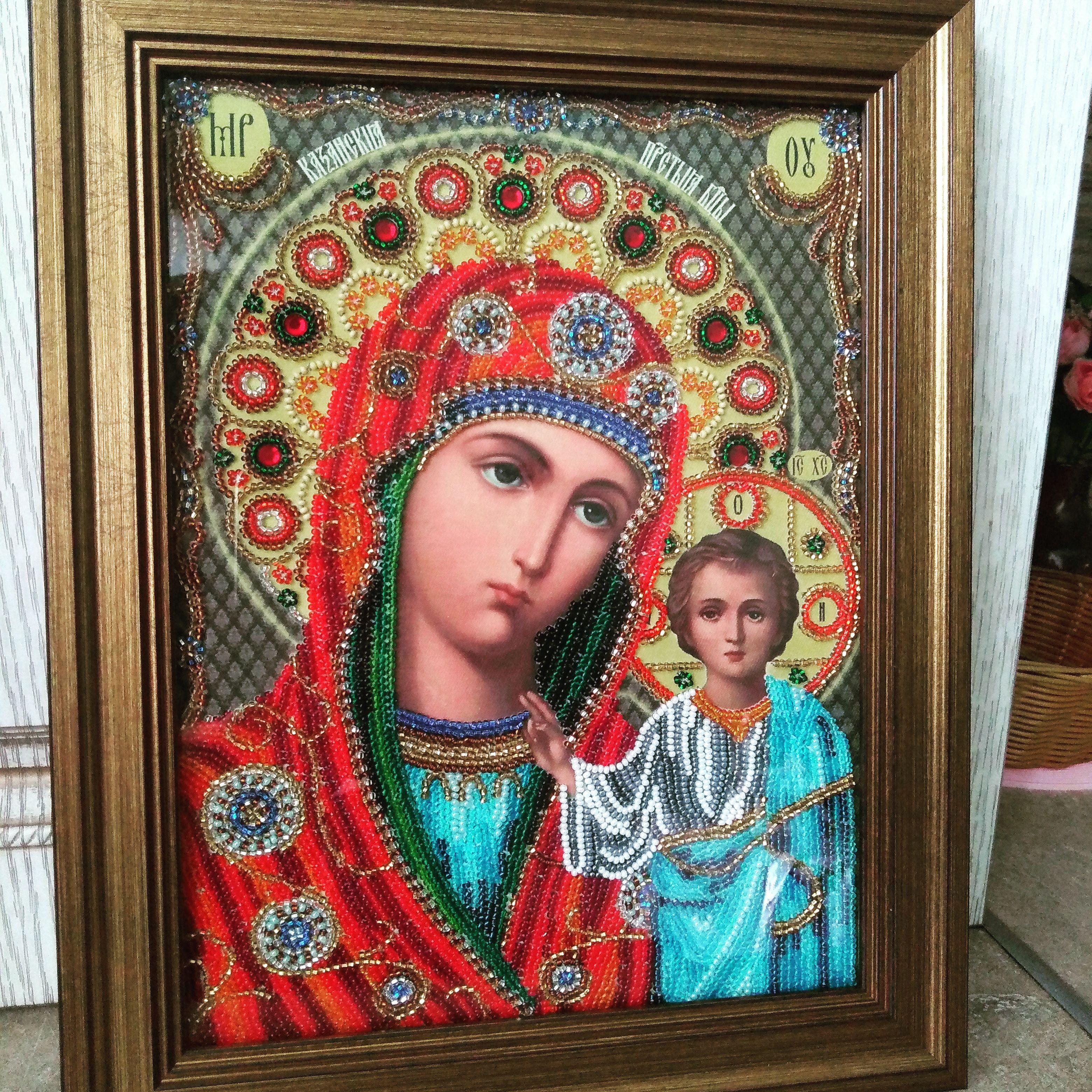 заказ бисером святые икона образ работы ручной продажу иконы