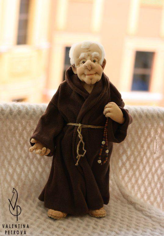 оригинальныйподарок монах эксклюзив роскошь кукланазаказ авторскаяработа кукла ручнаяработа подарок