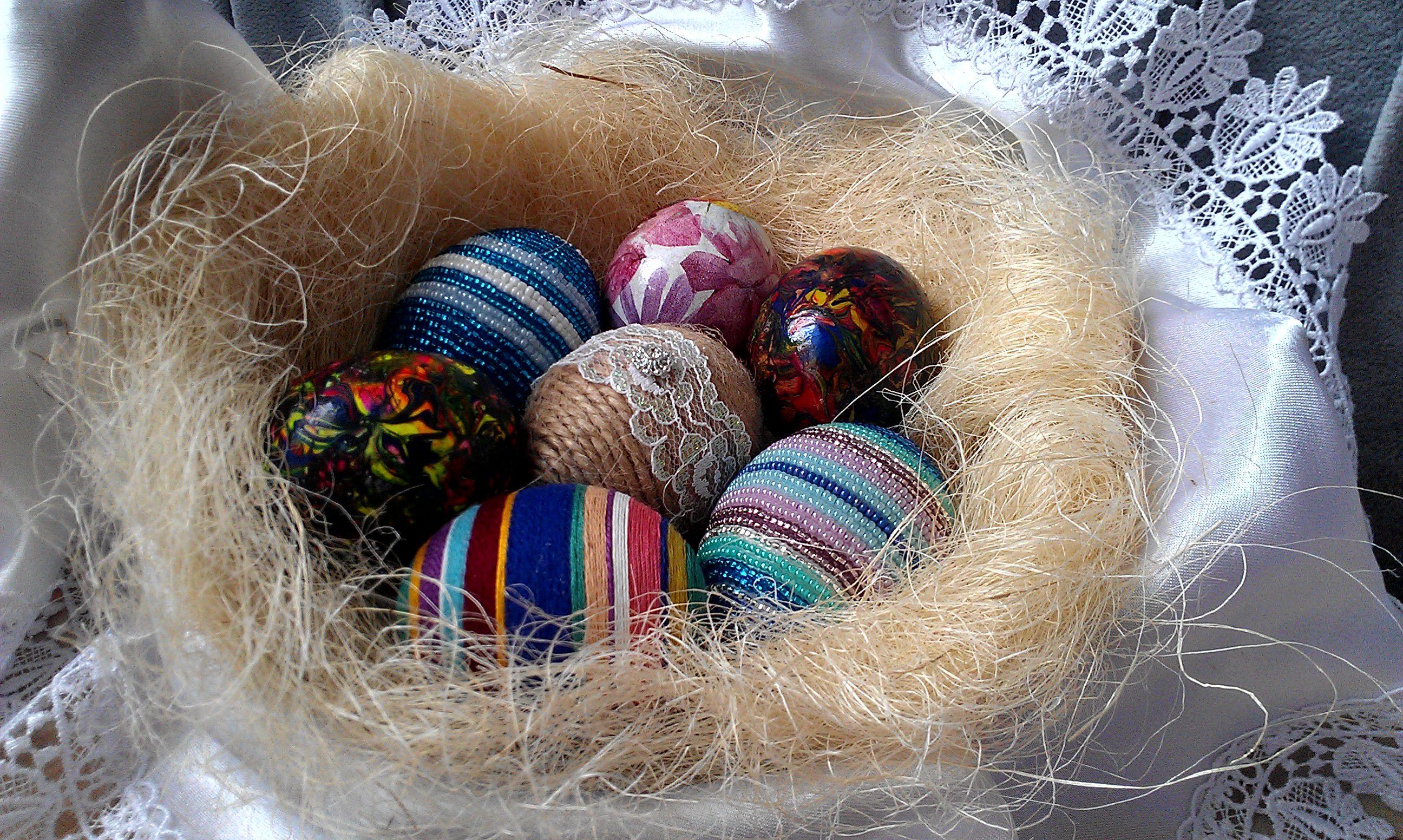 яйца асорти воск пасха