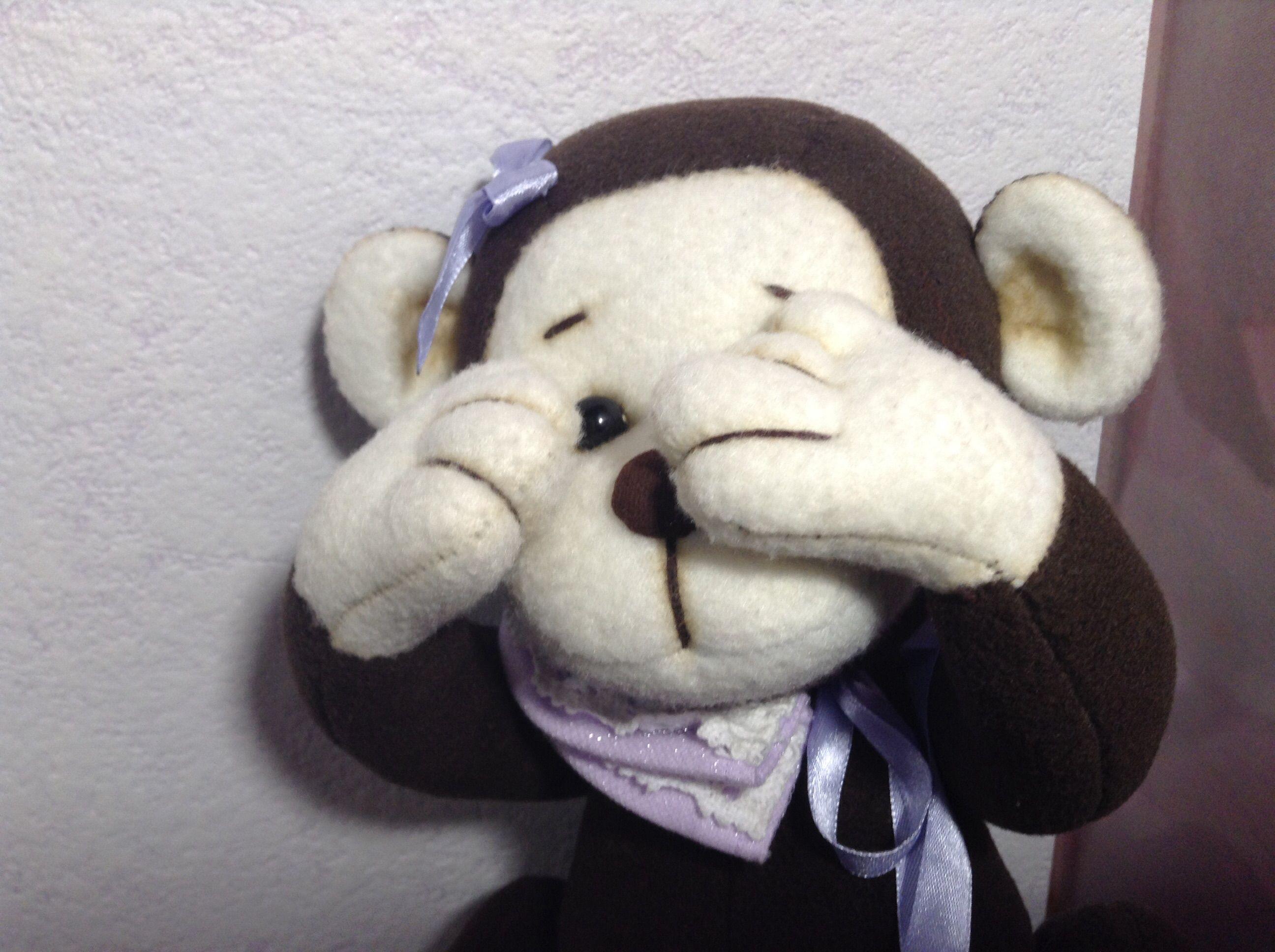 игрушка handmade ручная обезьянка работа