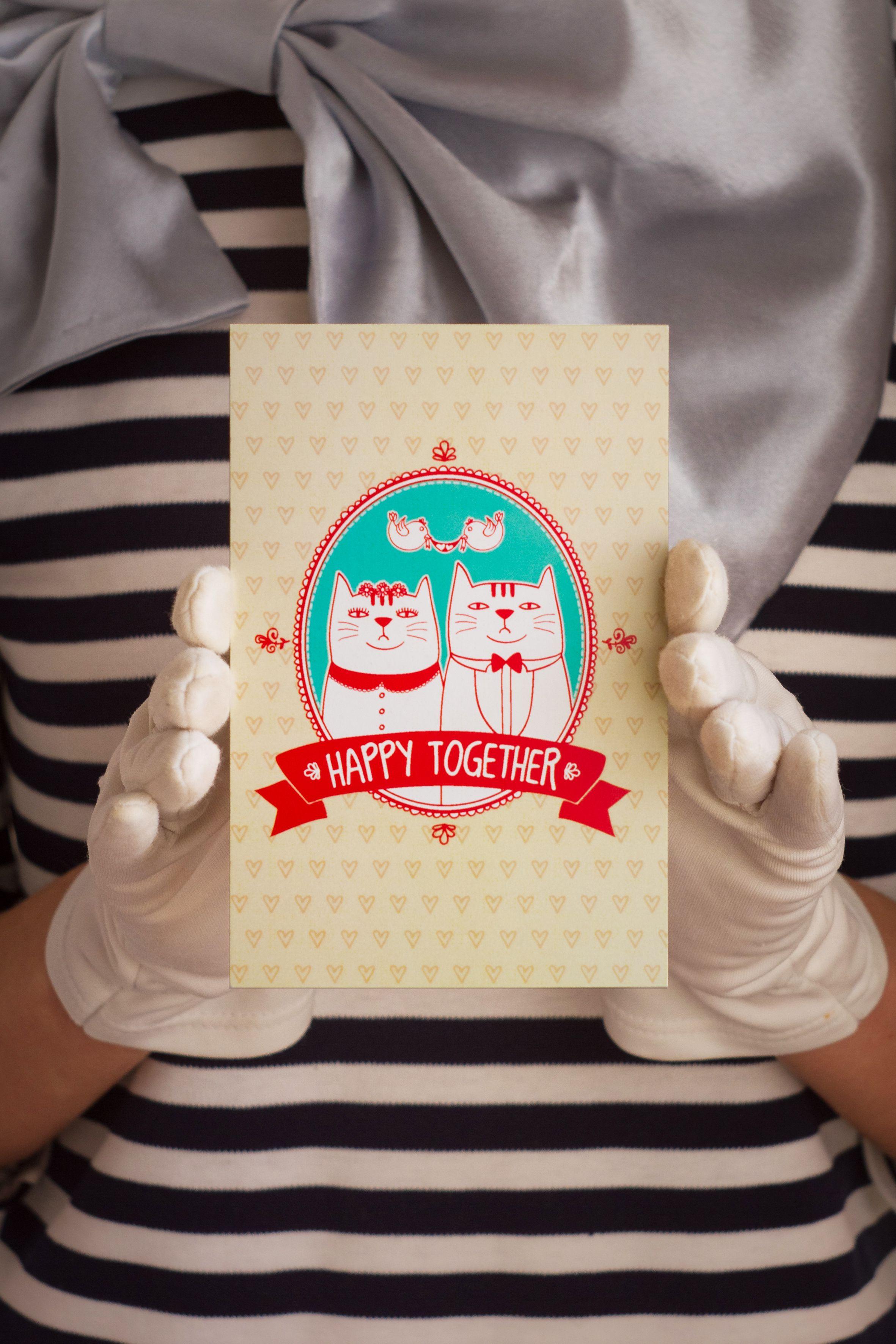 подарок счастливывместе happytogether знаквнимания сюрприз открытка