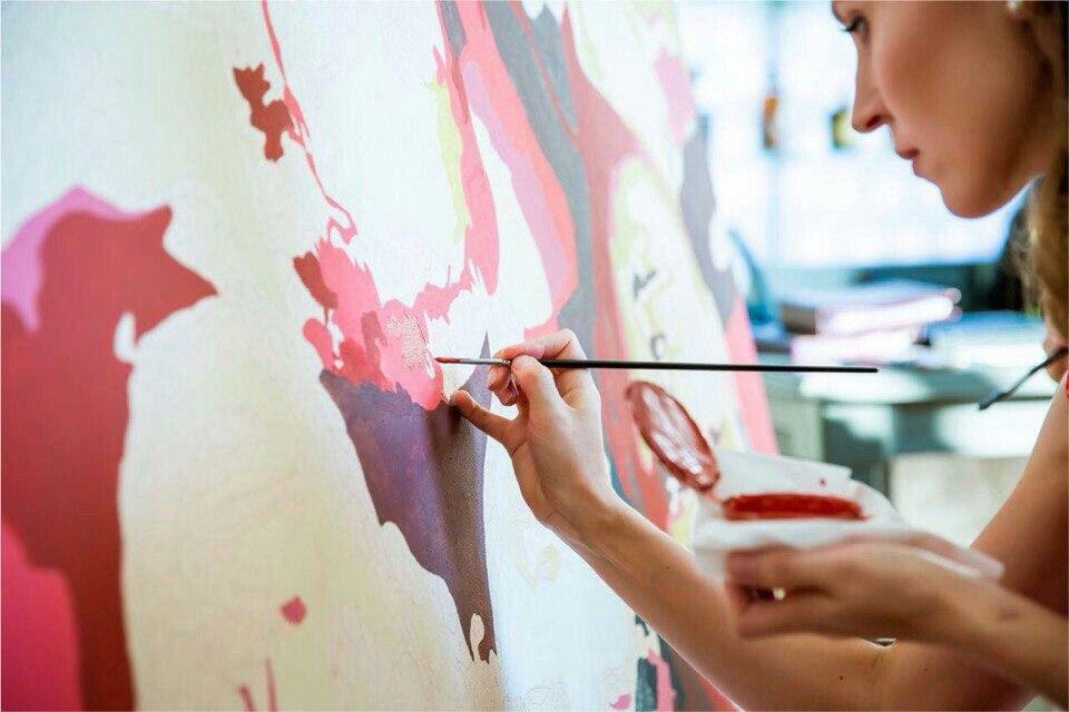 необычный номерам artlumen нарисуй картина год на новый по сам подарок искусство mosaic портрет современное попарт