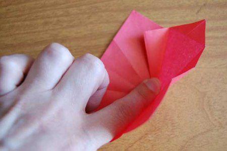 Оригами из бумаги цветы 22