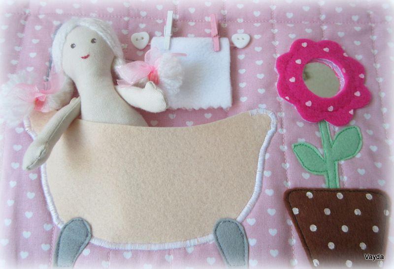 развивающаяигрушка домикизфетра текстильнаякуколка рождественскийподарок подарокдевочкеновыйгод домиксумочка кукольныйдом