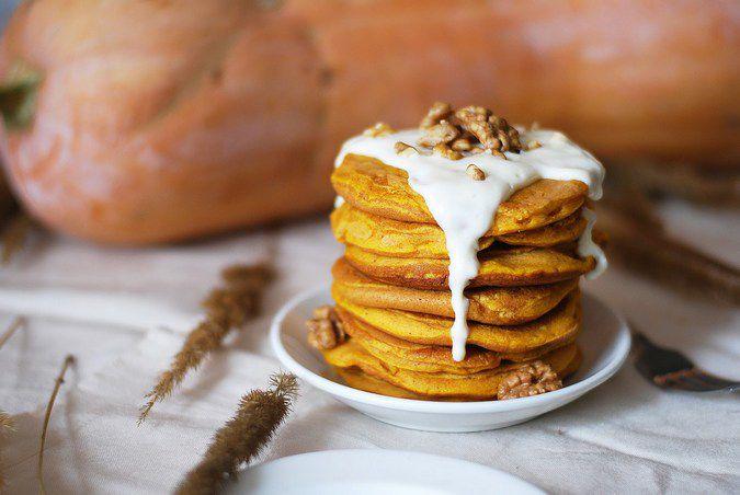 идея креатив тыква вкусно панкейки американскиеблины блины оладьи тыквенныепанкейки готовимдома завтрак идеязавтрака вкусноиполезно осенниедары осеннееблюдо очень