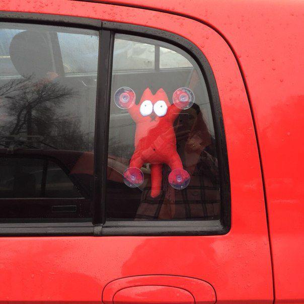 машину водитель подарок саймон кот в саймон. кот.