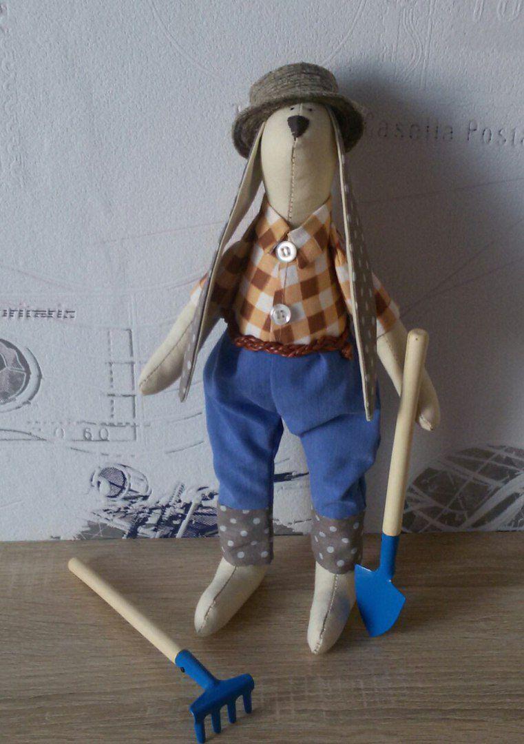 игрушка кукла ребенок заяц тильда зайка подарок