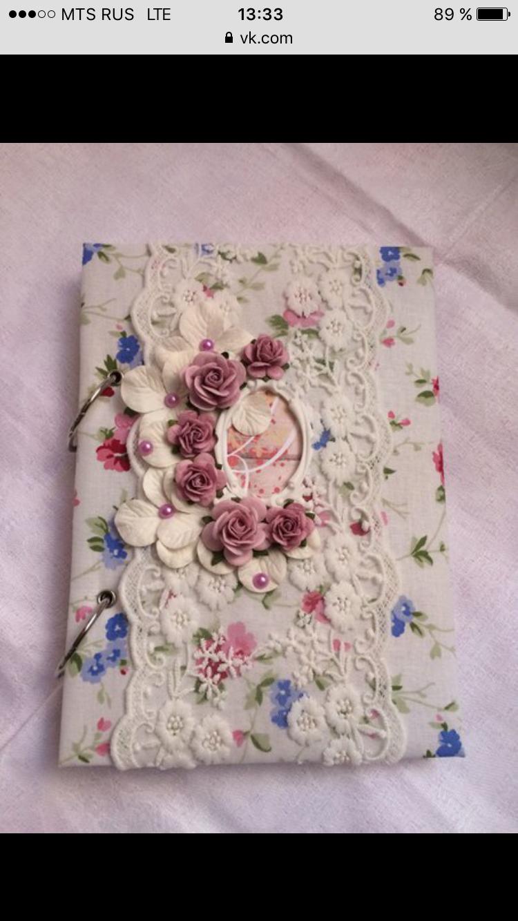 блокнот скрапбукинг декоративные ручной работы цветы