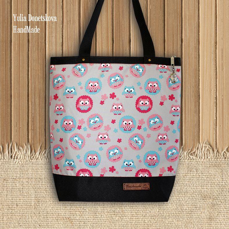 а4 путешествие подарок сова текстиль ткань сумка совы