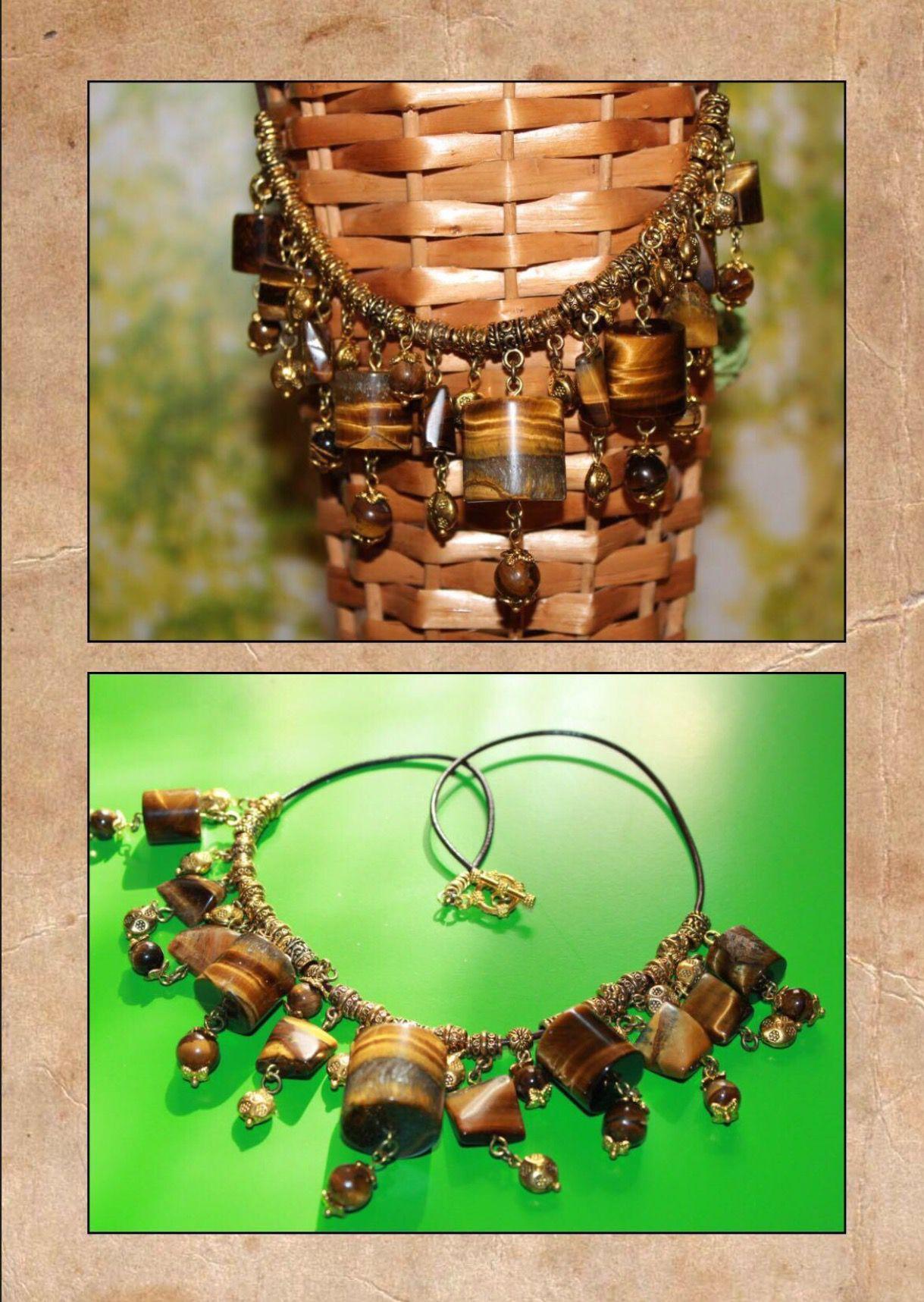 золото глаз тигровый украшения handmade ручная работа кожа натуральныекамни