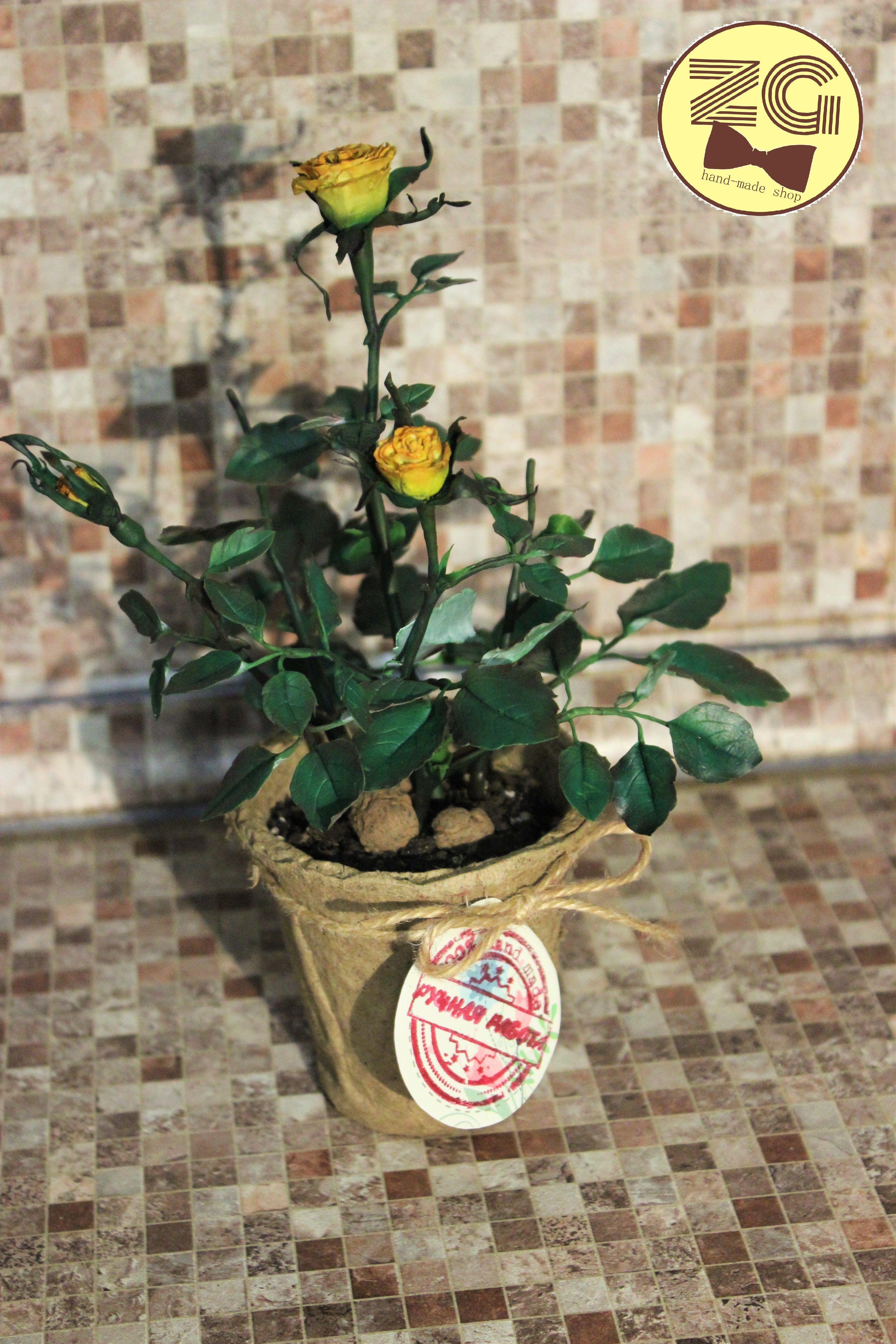 керамическаяфлористикаполимернаяглинарозаflowers
