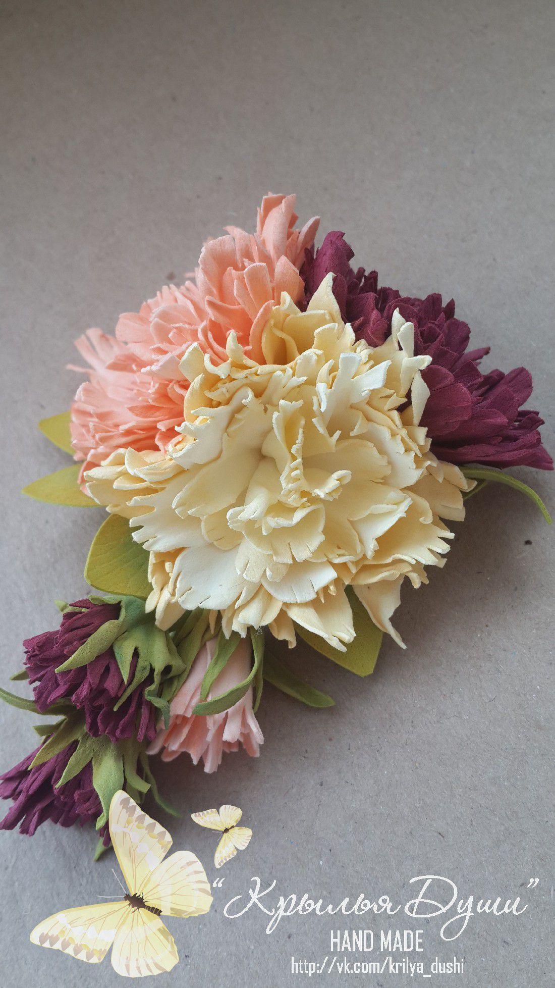 мейд волос украшения фоамиран ручная для розы работа хенд цветы