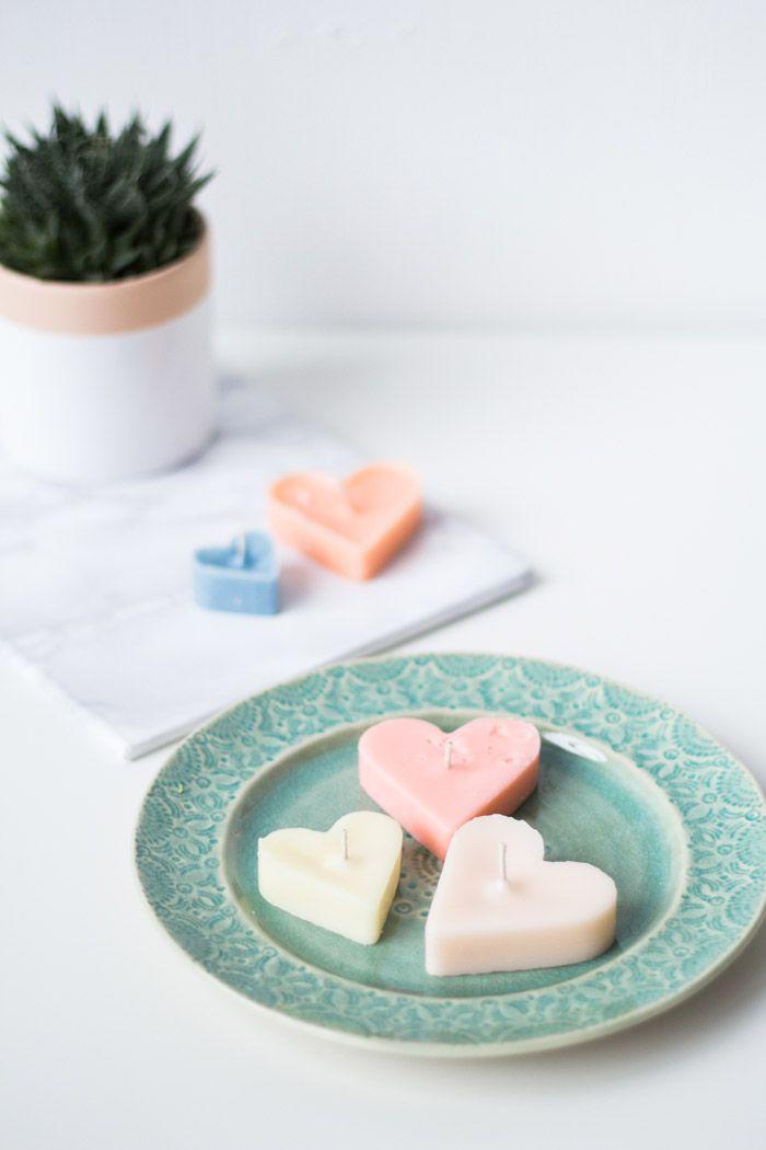 сердце воск любовь мастеркласс свечи