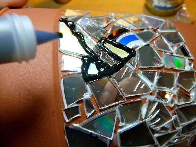 Поделки из дисков своими руками 7