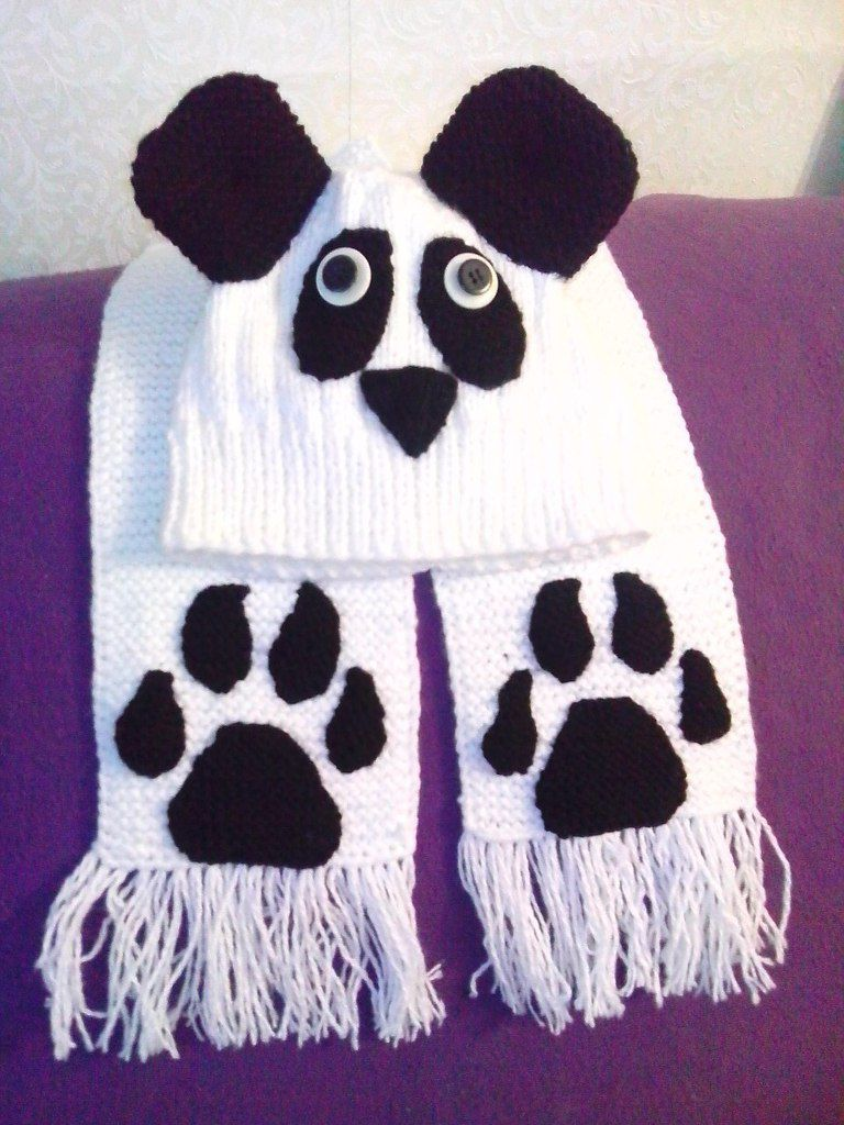 шарф шапочка