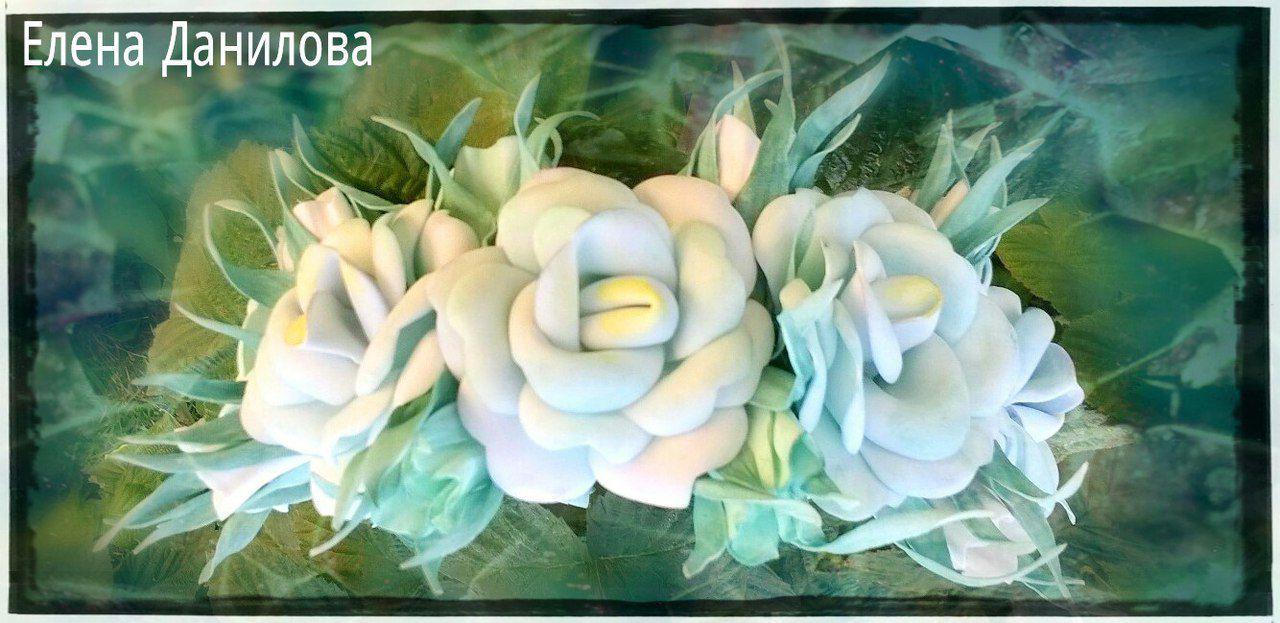 цветами волос цветочный украшения ободок для с