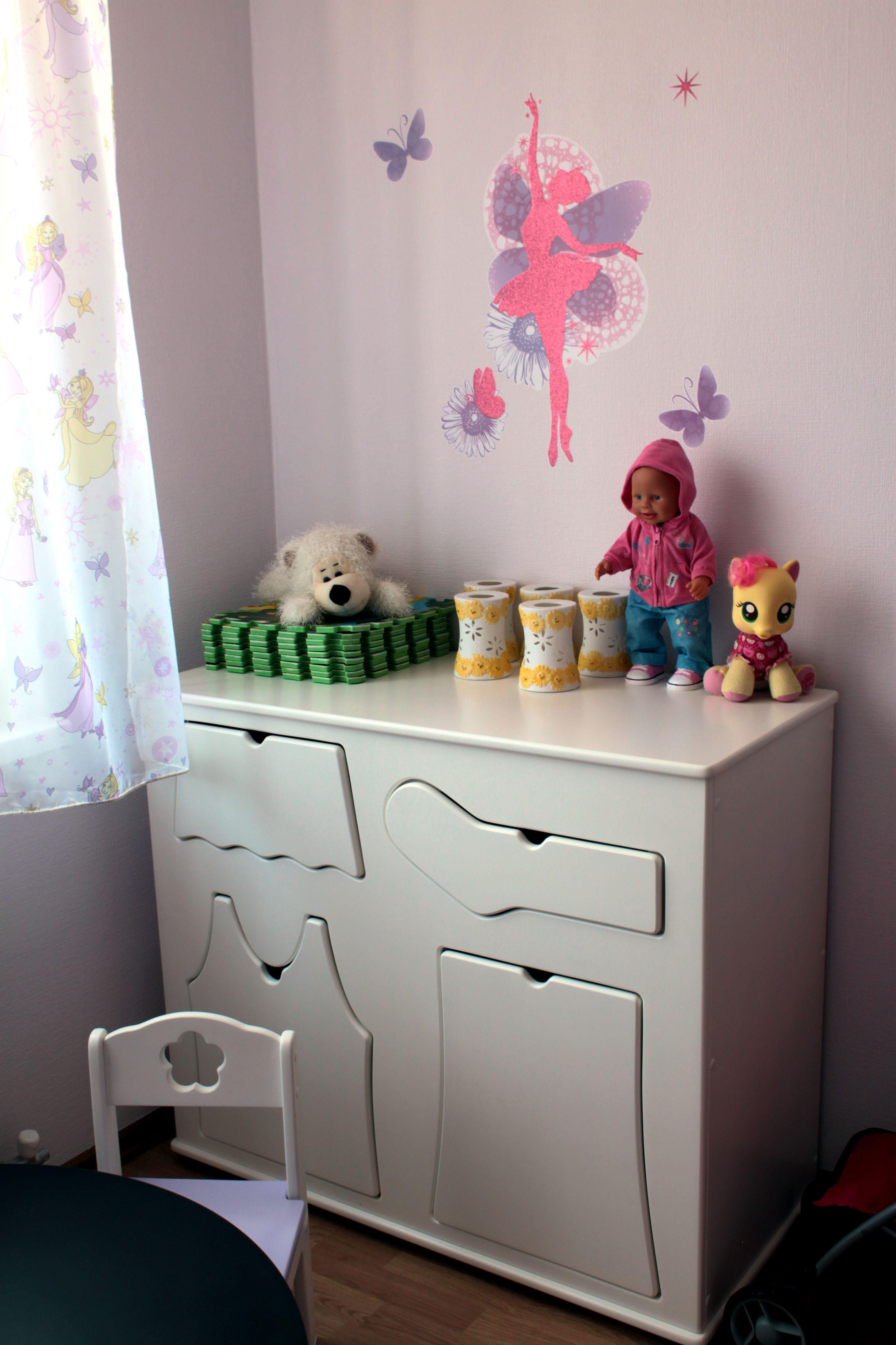 детская мебель интерьер комод порядок
