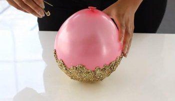 хендмейд декор интерьер своимируками сделайсам дизайн поделка идея креатив фантазия длядома креативнаяидея вазочка лайфхак интересно блестки
