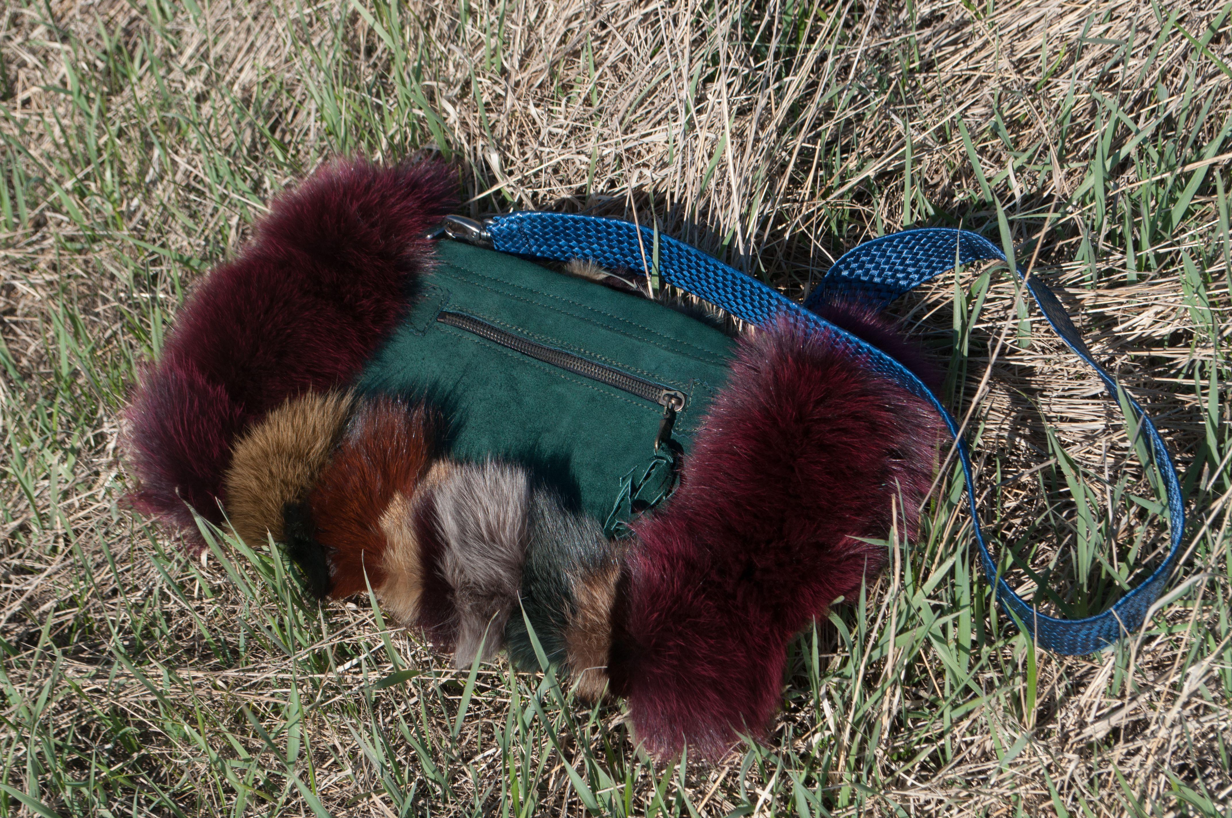 кожа кожаная мех муфта сумка натуральная натуральный эксклюзивная кожи меха меховая замша