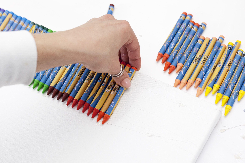 карандашей детьми картины из с творчество руками своими картина