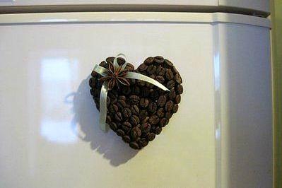Поделки из зерен кофе 5
