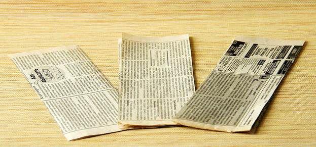 Плетение из газет 5