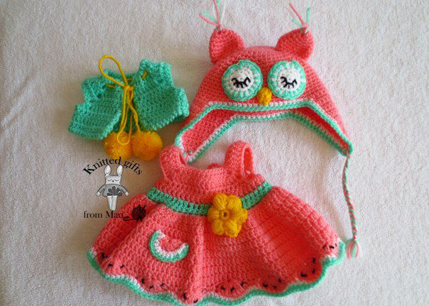 вязаная день кукла рождения подарок