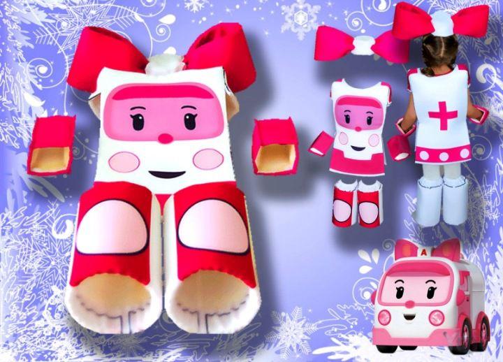 одежда купить робот карнавальные эмбер робокар детям аксессуары праздник ручная работа текстиль новый год комплекты детские новогодние поли рой пожарная машинка продажа костюмы красная новогодний